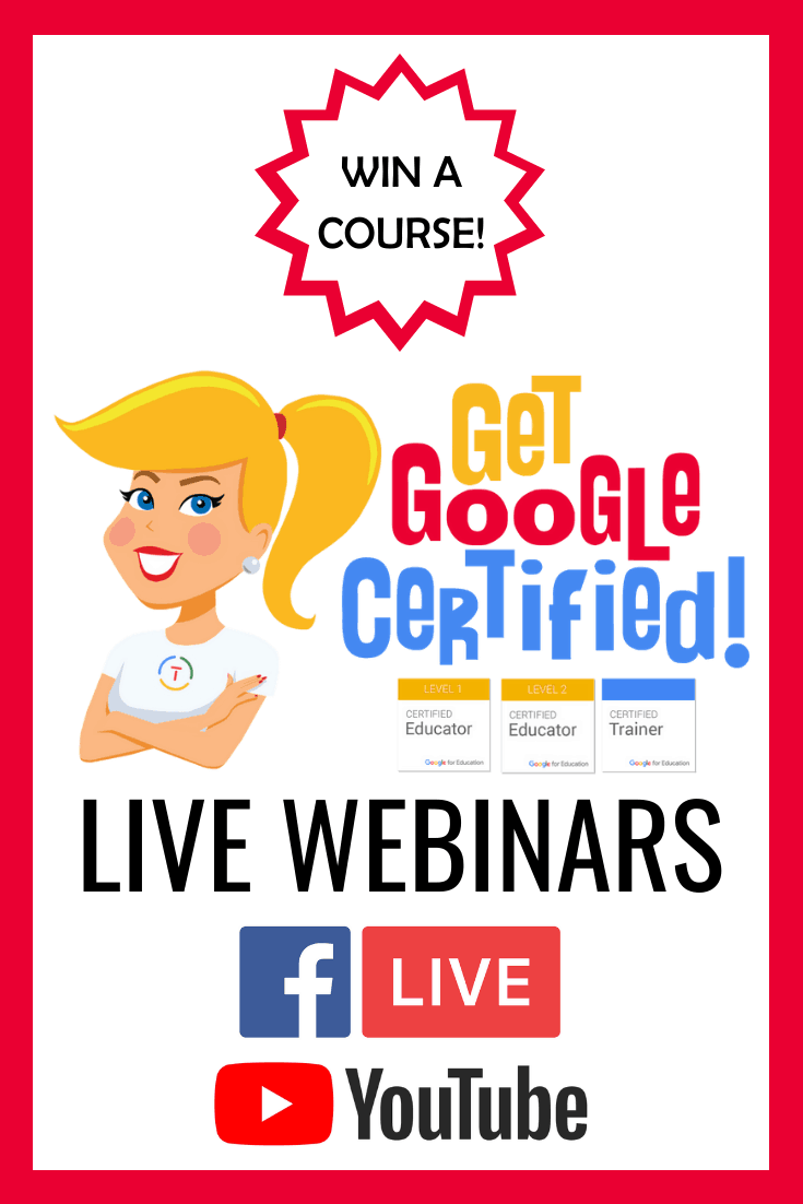 Google Certification LIVE Webinars (and Course Giveaway!)