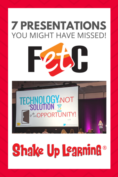 7 Presentations You Might Have Missed! #FETC2020