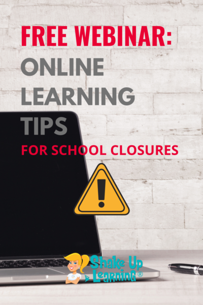 FREE Webinar: Online Learning Tips for School Closures