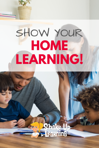Show Us Your Home Learning
