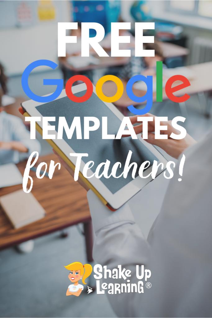 Free Google Templates for Teachers