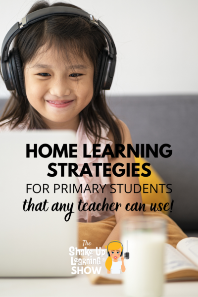 Home Learning Strategies for Primary Students