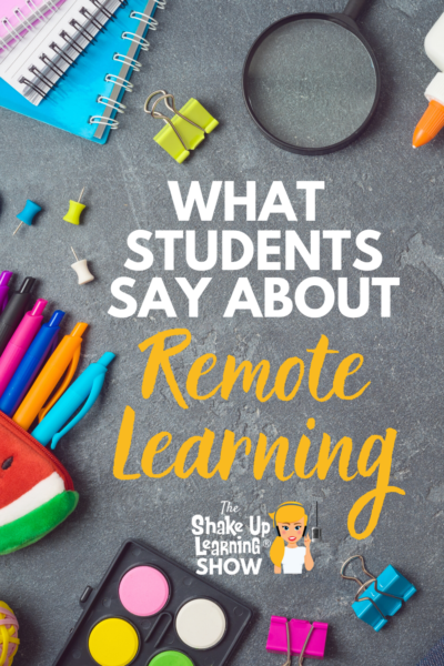 What Students Have to Say About Remote Learning