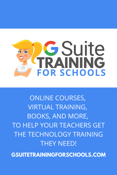 G Suite Training for Schools
