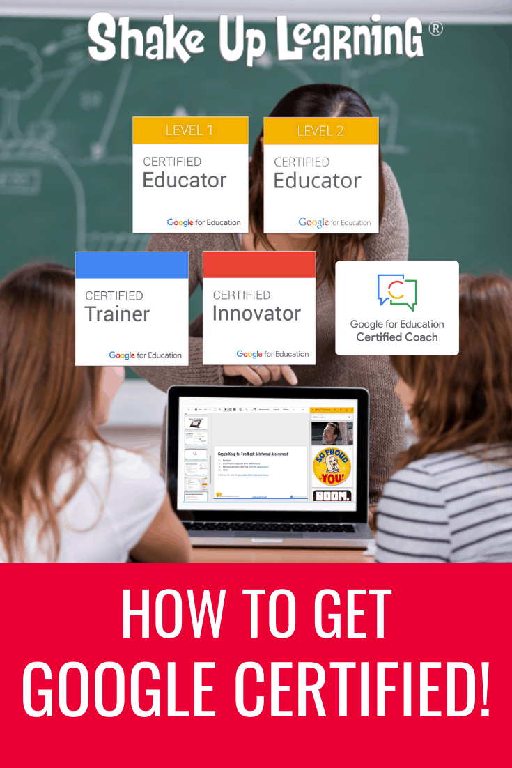 How to Get Google Certified (Level 1, Level 2, Trainer, Innovator, and Coach!)
