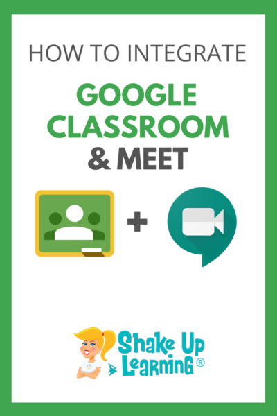 How to Integrate Google Classroom and Google Meet