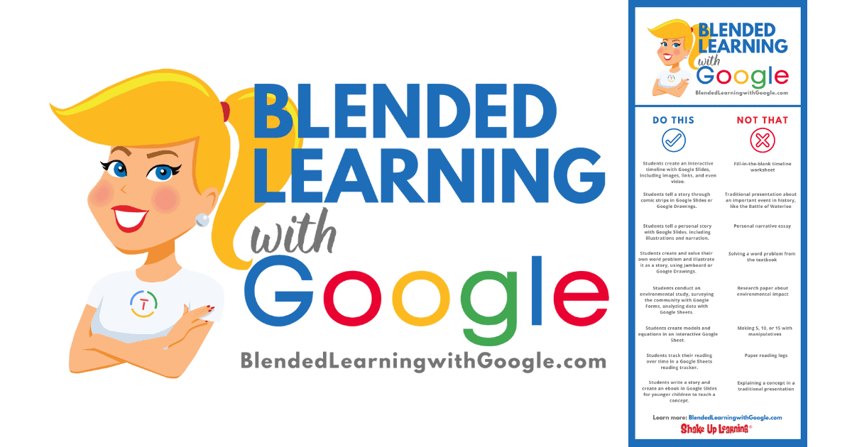 Blended Learning with Google (Part 1: Do THIS, NOT That!) - SULS088 | Shake Up Learning