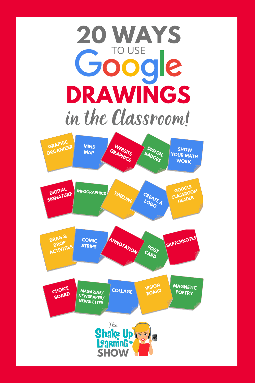 20 Ways to Use Google Drawings in the Classroom