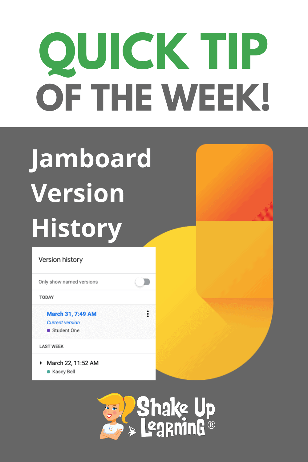 How to Access Version History in Jamboard