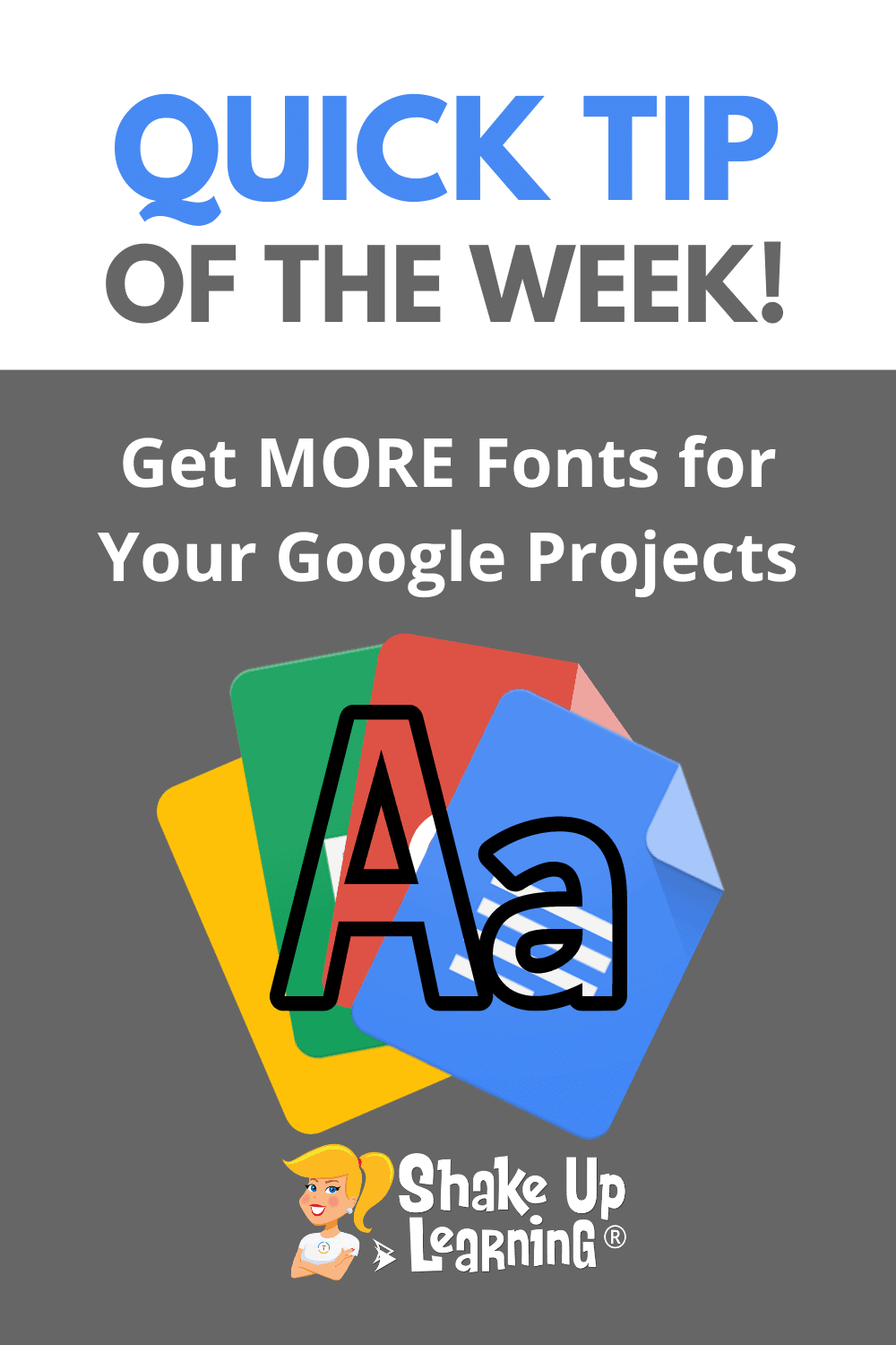 Get MORE Fonts for Your Google Projects! (Docs, Slides, Sheets, Drawings)