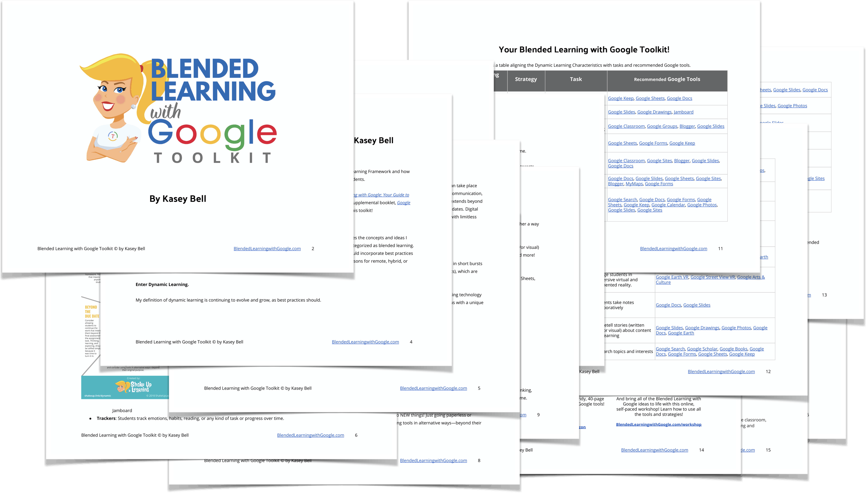 Blended Learning with Google Toolkit for Teachers