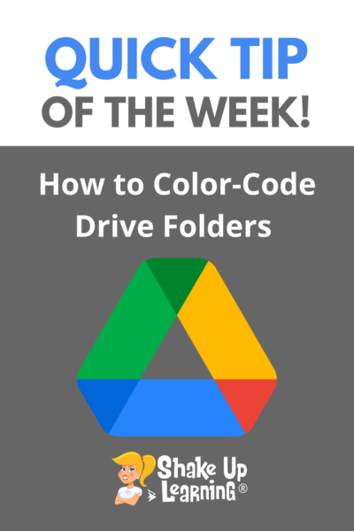 How to Color-Code Google Drive Folders