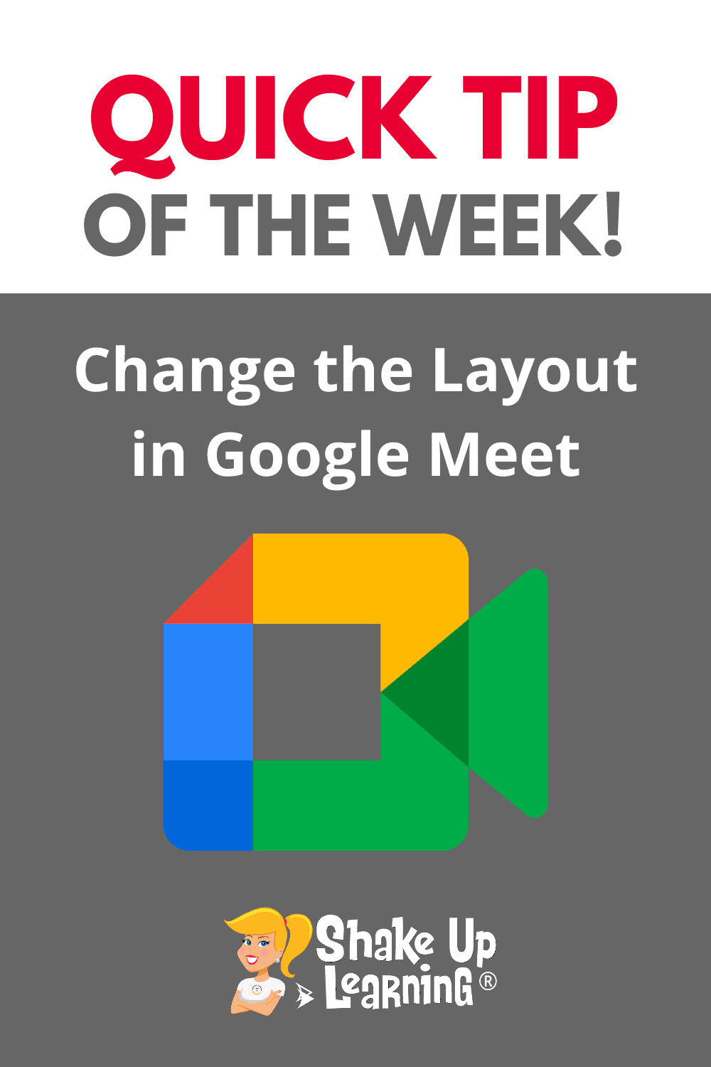 How to Change the Layout in Google Meet