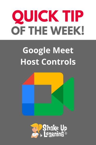 Google Meet Host Controls