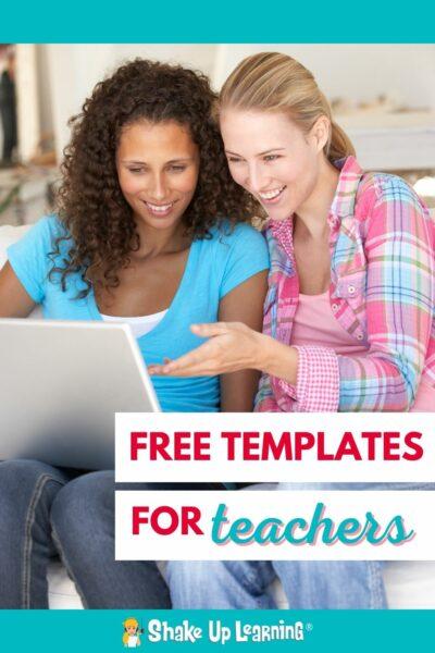 FREE Templates for Teachers