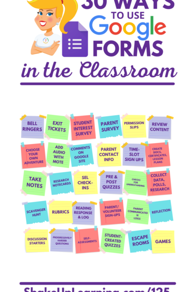 30 Ways to Use Google Forms in the Classroom