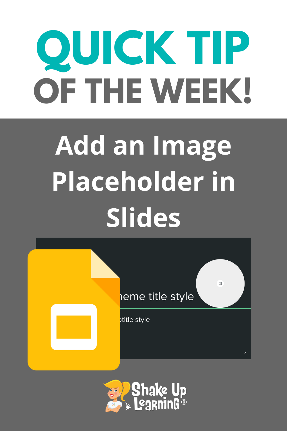 How to Add an Image Placeholder in Google Slides