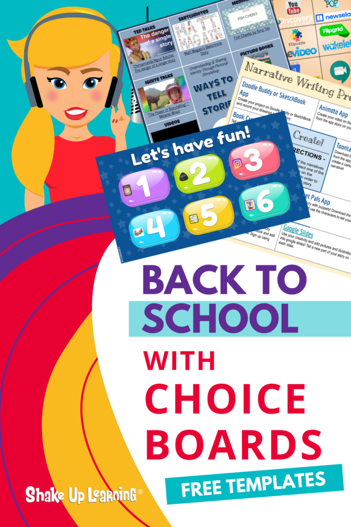 Back to School with Choice Boards