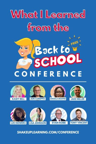129: What I Learned at the Back to School Conference!
