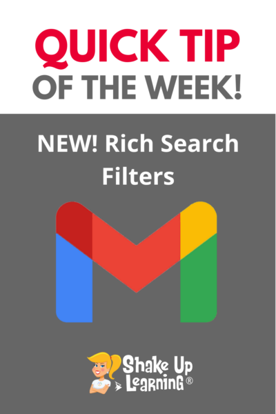 Rich Search Filters in Gmail (NEW Feature)